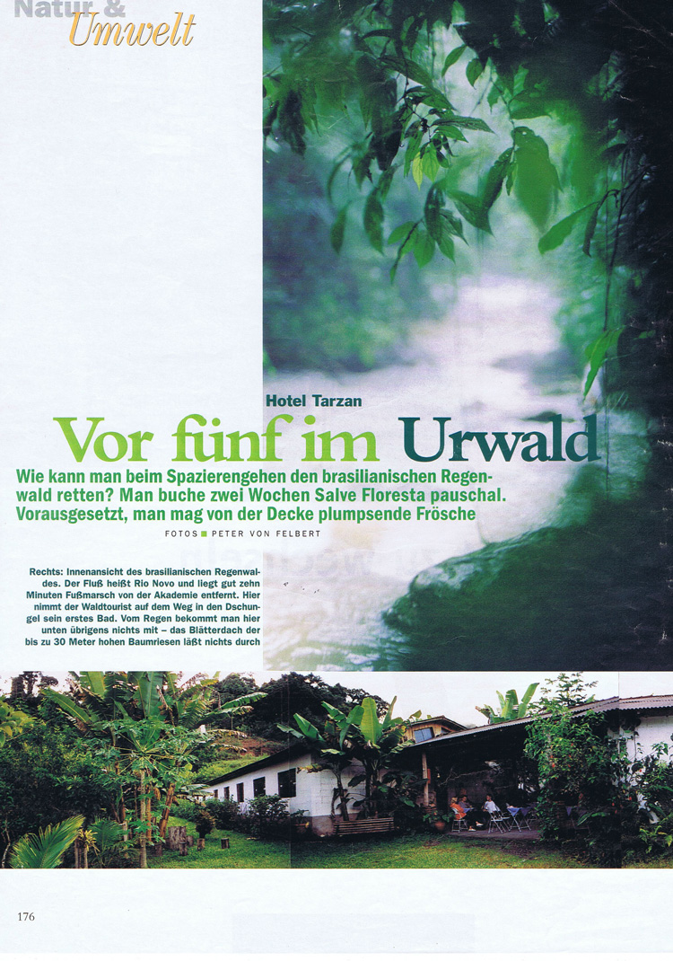 """Natur & Umwelt"" front page"