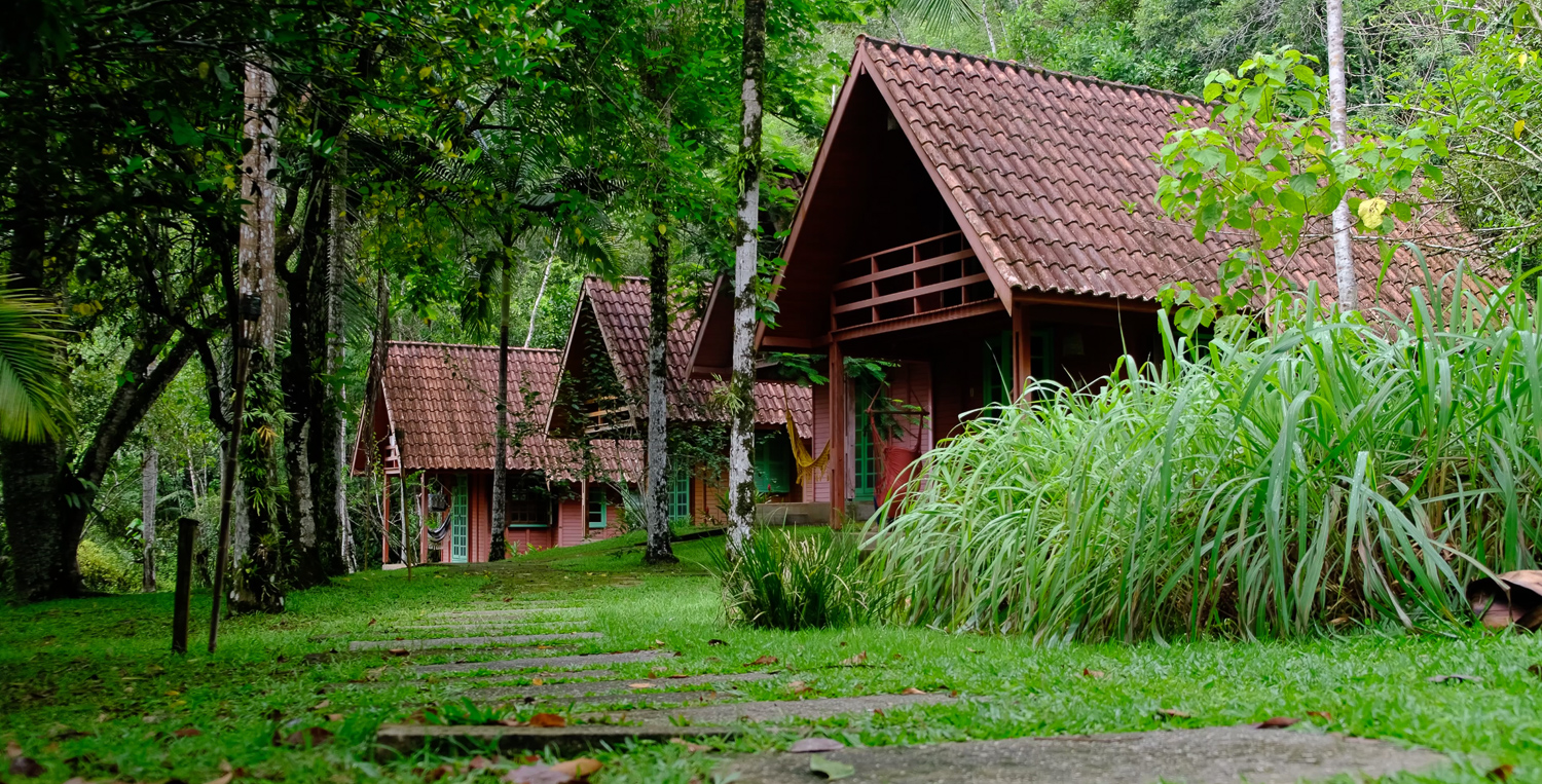 Houses in Salve Floresta eco-lodge