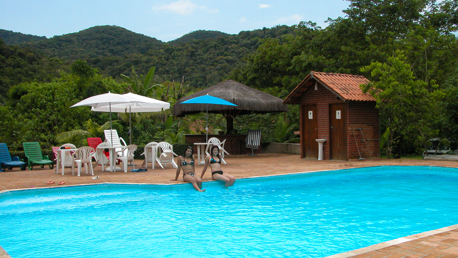 Salve floresta's swimming pool