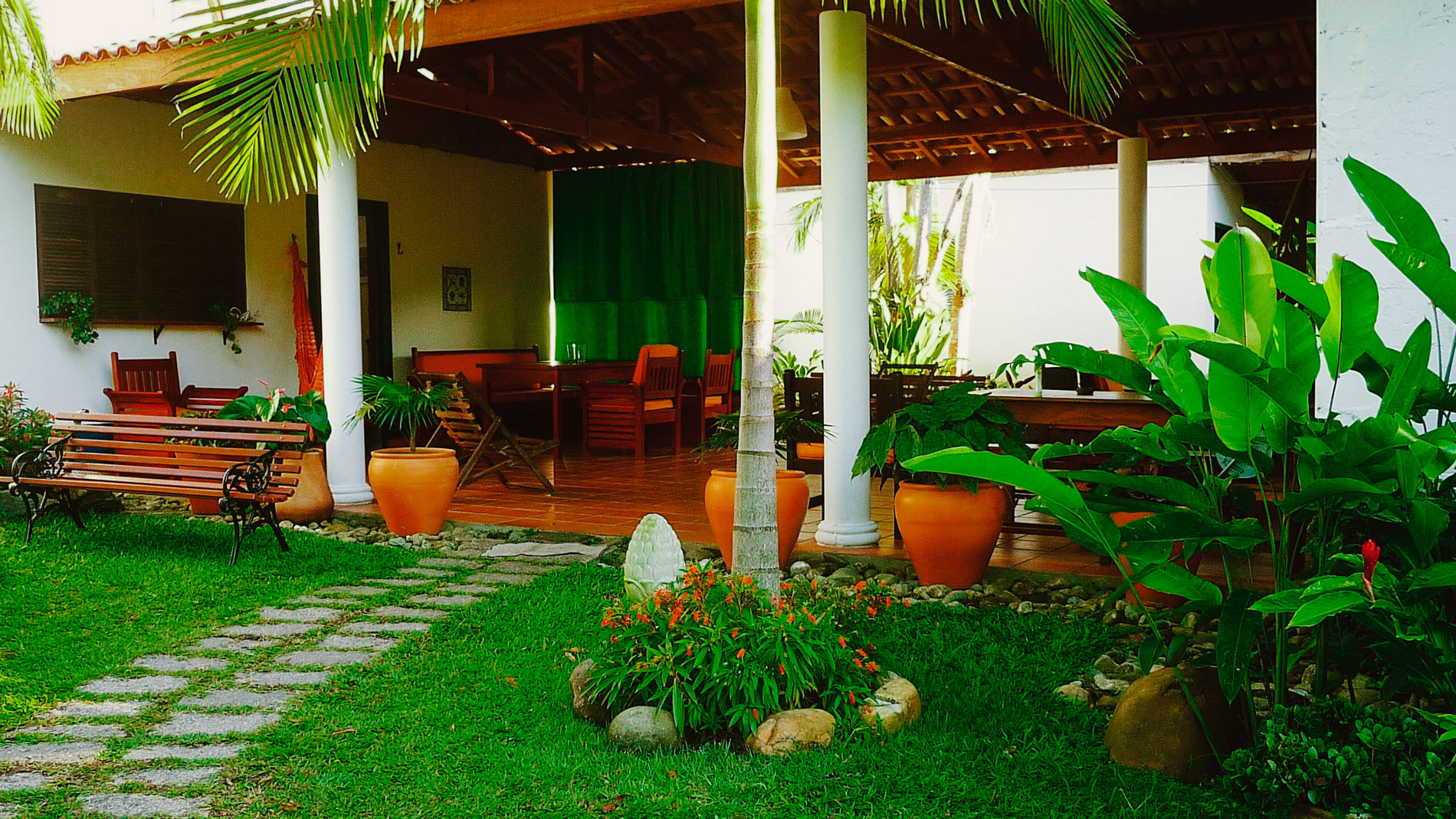 Salve Floresta's terrace