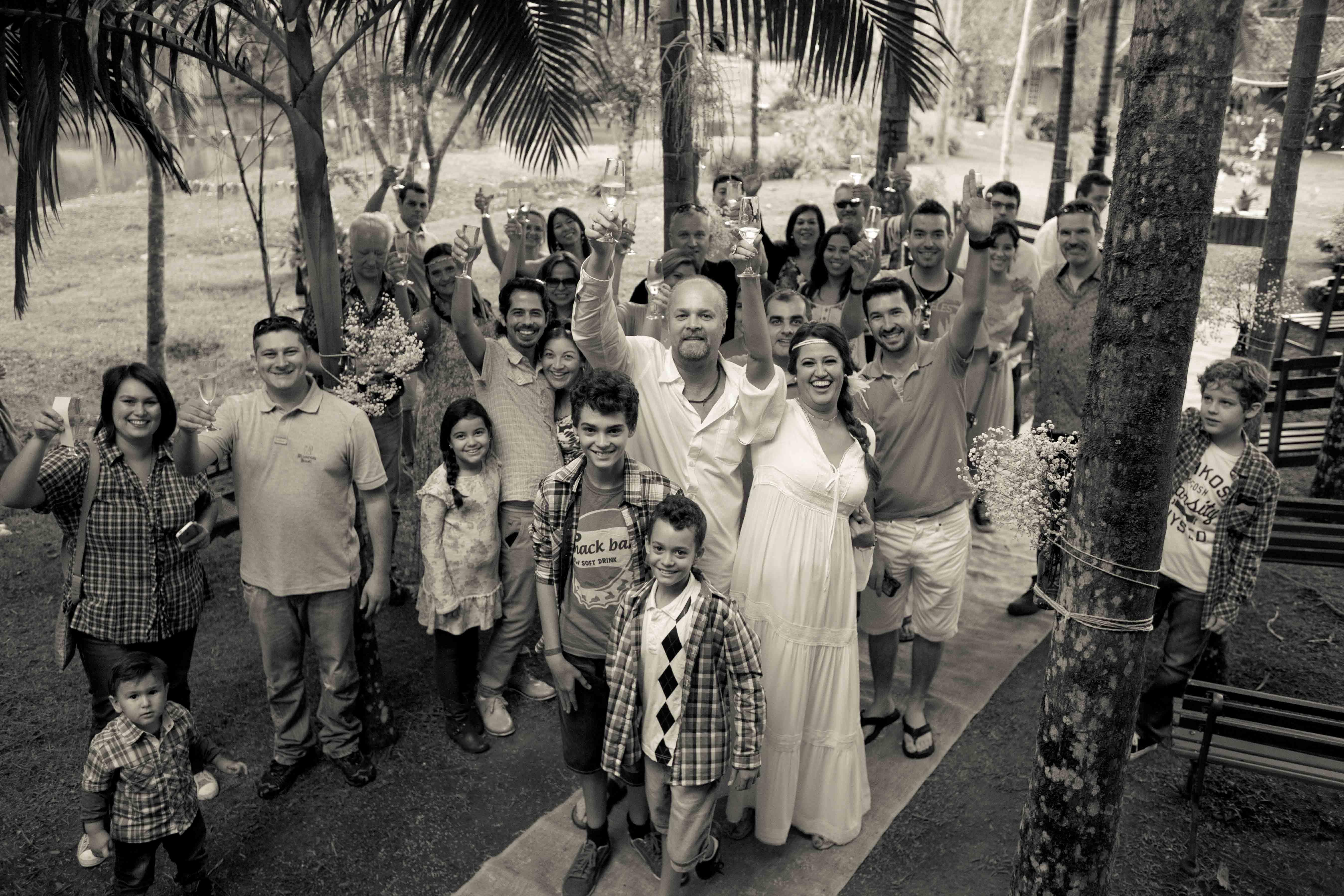 Casamento na Eco Lodge Salve Floresta